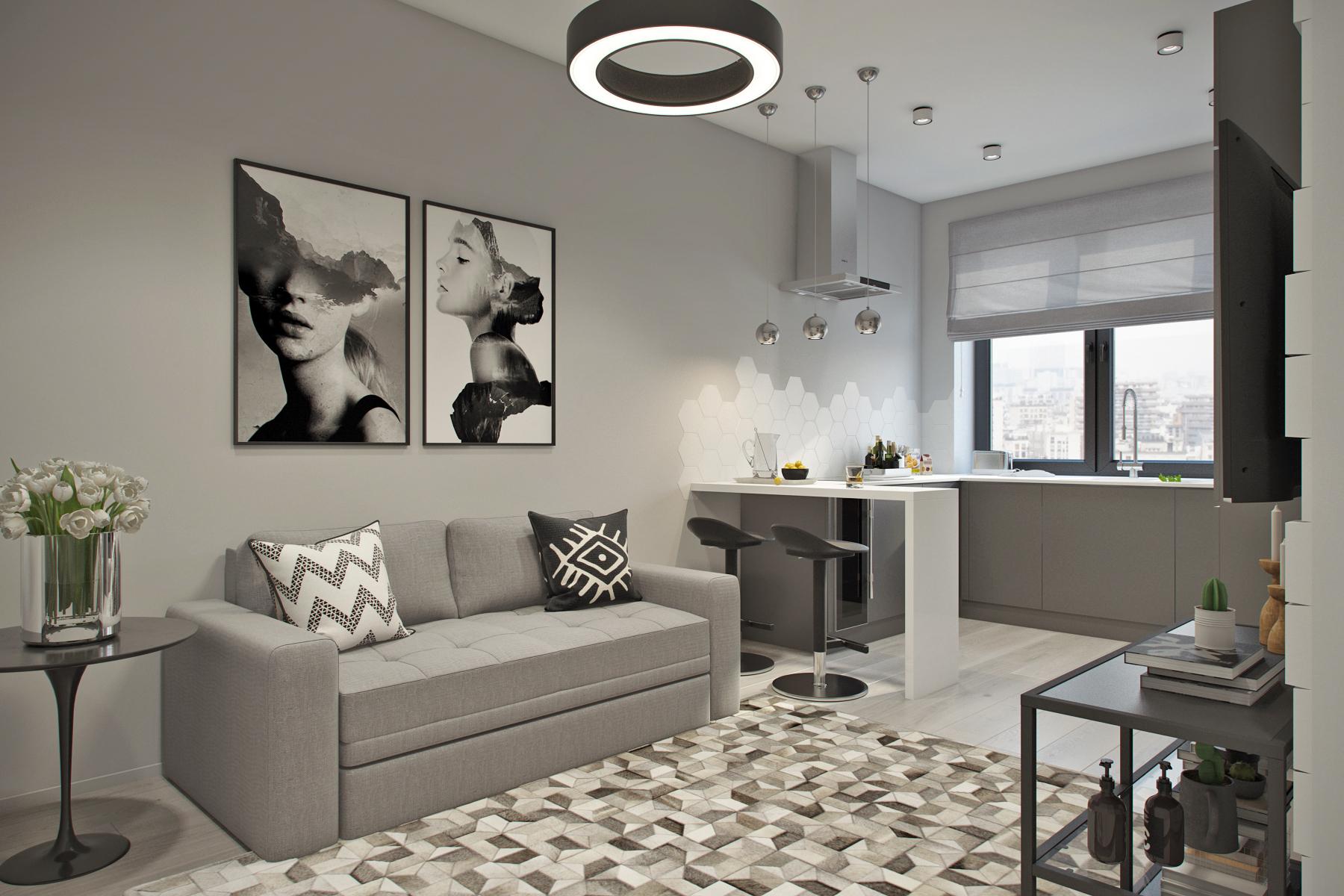 Дизайн-проект квартиры для молодой семьи: как лучше обустроить