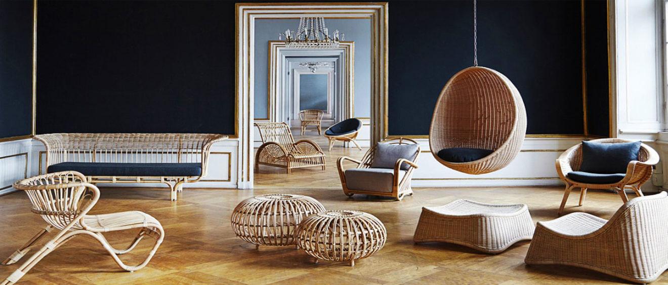 Экологичная мебель: плетёная мебель из ротанга в современном интерьере