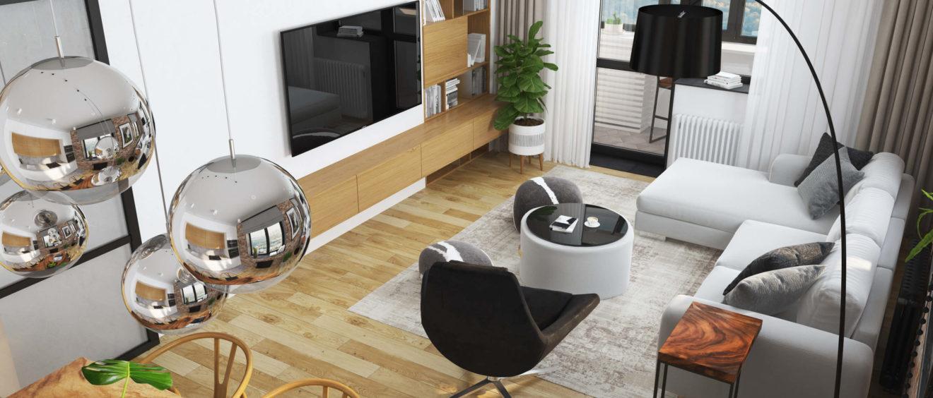 Функциональный и красивый интерьер квартиры: как это сделать