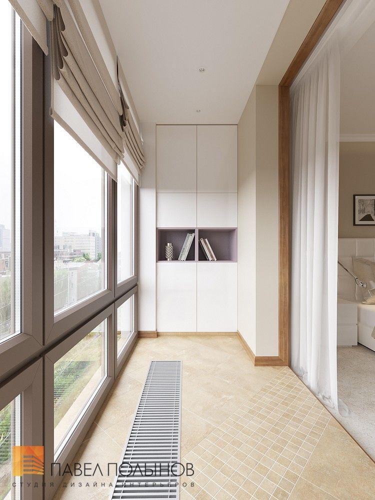 Интерьер балкона / лоджии в квартире