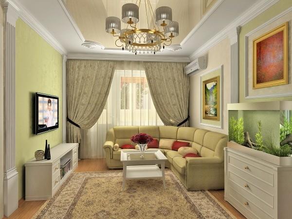 Как правильно расставить мебель в гостиной: 5 основных рекомендаций