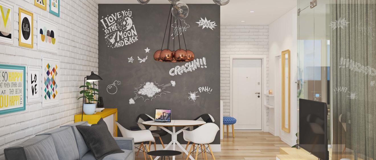 Как сделать функциональное жилье намаленькой площади: 10 идей по обустройству однушки
