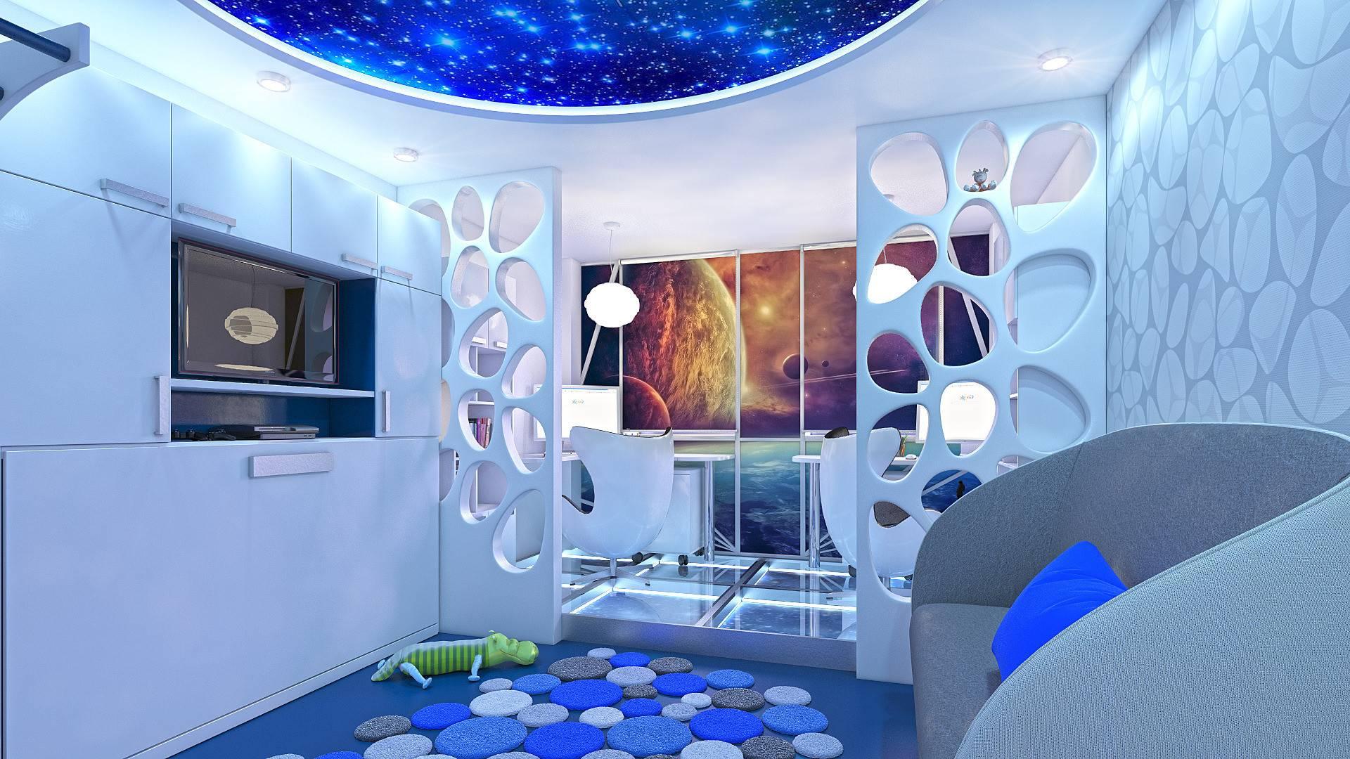 Необычные интерьеры комнат квартир и домов