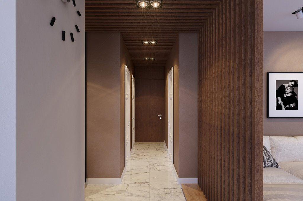 Правила обустройства узкого коридора: коротко и по делу