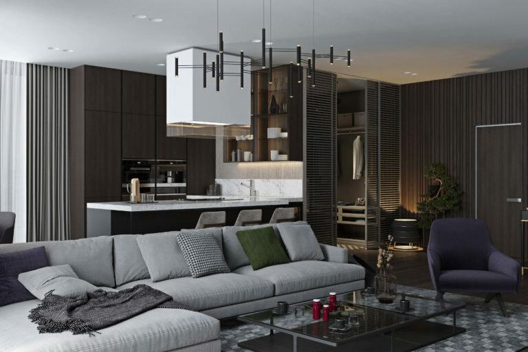 В чём разница между элитным дизайнерским ремонтом квартиры и простым ремонтом?