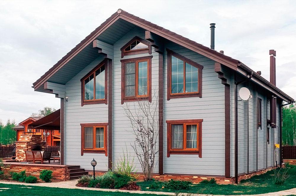 Актуальная внешняя окраска домов