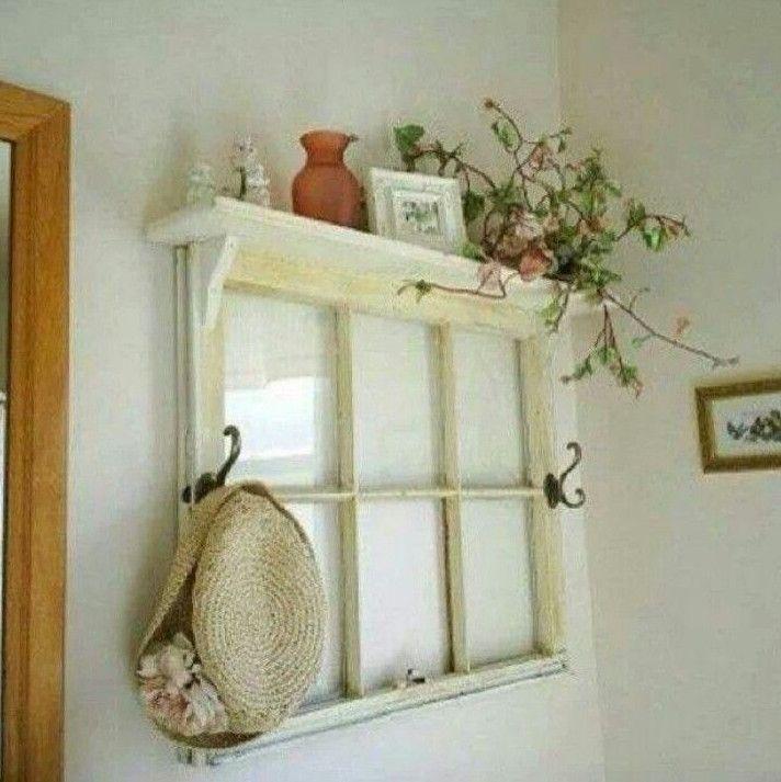 Идеи для украшения старых окон