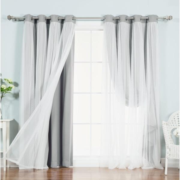 Лучшие прозрачные шторы с люверсами