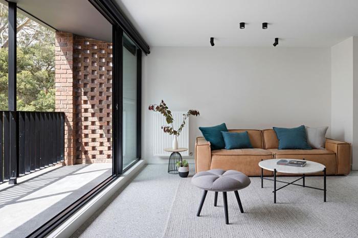 Выбираем мебель правильного размера.  Фото: inbetweenarchitecture.com.au.