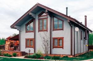 внешняя окраска домов
